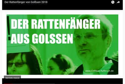 """""""Der Rattenfänger aus Golßen"""" - Das Video zur Aktion """"Spendenmarsch"""""""