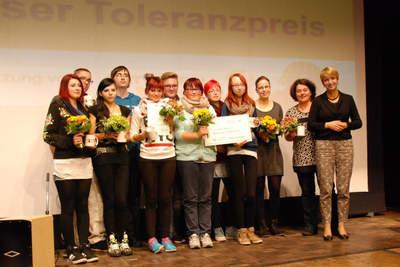 Cottbuser Toleranzpreis geht an Pestalozzi-Förderschule!