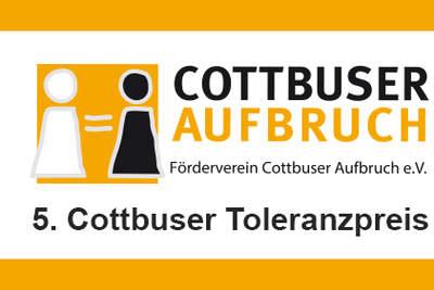 Pressemitteilung Cottbuser Toleranzpreis 2019