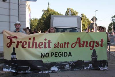 Freiheit statt Angst No Pegida!