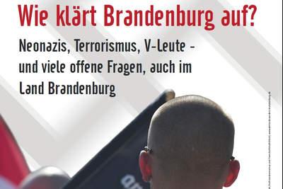 NSU-Mordserie - Wie klärt Brandenburg auf?