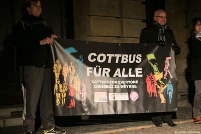 Cottbus bekennt Farbe 2017