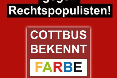 Rote Karte gegen Rechtspopulisten!