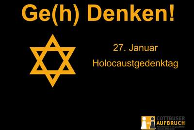 27. Januar - Holocaust-Gedenktag
