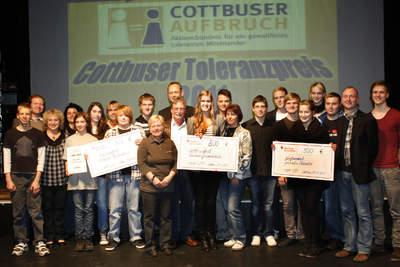 Verleihung des 1. Cottbuser Toleranzpreises 2011